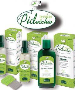 Pidocchio hajtetű elleni BIO készítmények
