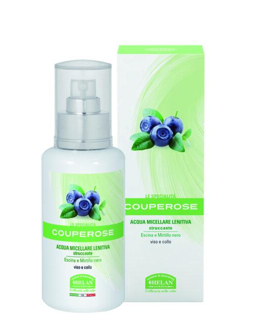 Helan Couperose micelláris arctisztító víz rozáceás bőrre