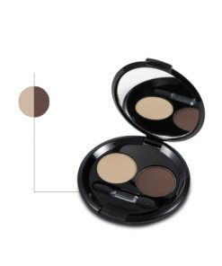 Helan bio szemhéjpúder smink világos barna/sötét barna