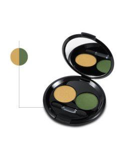 Helan bio szemhélypúder sárga-zöld színű