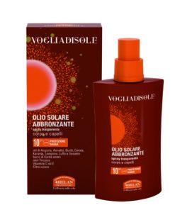 Helan Vogliadisole napozó Olaj 10 Faktor bőrre és hajra 200ml