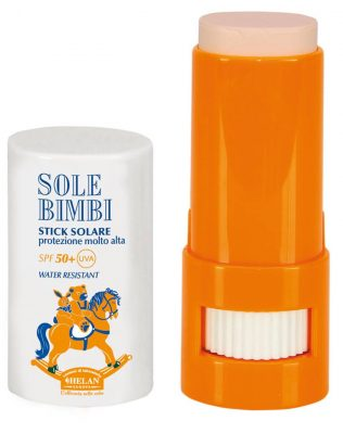 Helan Sole Bimbi bio napvédő stick gyerekeknek 50SPF 8ml