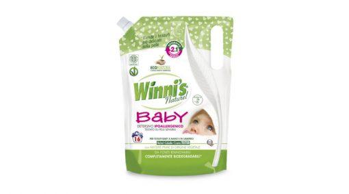 Winni's Naturel Baby 2 in1 mosószer babaruha mosáshoz 800 ml