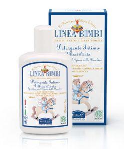Linea Bimbi bio intim mosakodó kislányoknak