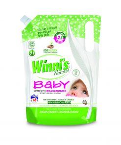 Winni's öko mosószer babáknak