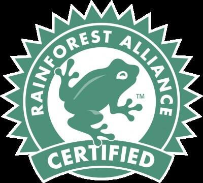 Környezetbarát termékek jelölése - Rainforest Alliance