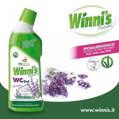 Winnis WC tisztító - környezetbarát termékek a háztartásban