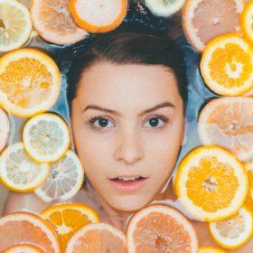 narancsbőr vízben